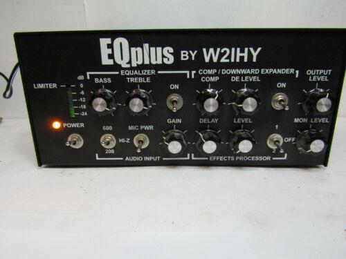 W2IHY EQPlus Audio Processor Kenwood Icom Yaseu Ham Radio