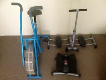 4 different home exercise equipment all for $60 Belmore Canterbury Area Preview