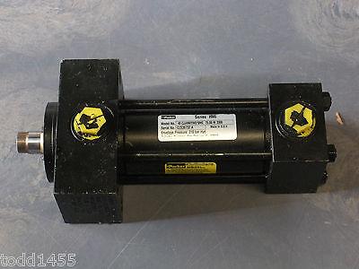 Parker 40 Cjjhmiyns19mc Hydraulic Cylinder 75 M 3300 Cc536732 A 210 Bar Hyd