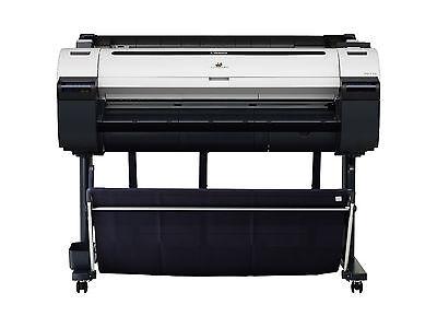 "Canon imagePROGRAF iPF770 36"" Large Format Color InkJet Printer Plotter New"