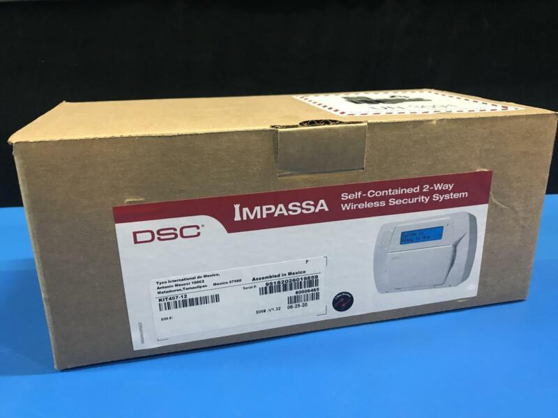 DSC KIT457-12 Impassa 2-Way Self Contained Wireless Security System