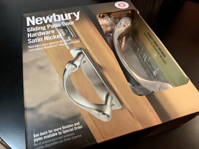 Andersen Newbury Gliding Patio Door Handle - Satin Nickel - 57046 - NEW/SEALED