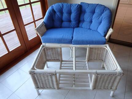 Wicker table and 2 chairs Nowra Nowra-Bomaderry Preview