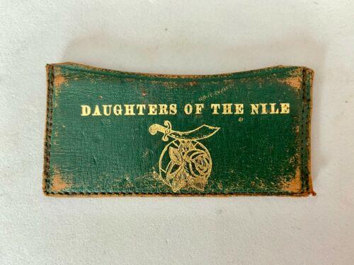 1937 STERLING SILVER DAUGHTERS OF THE NILE LIFE MEMBERSHIP METAL PASS