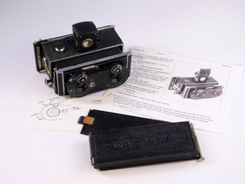 Kosmo-Clack Rietzschel Stereo Camera made in Germany - NS
