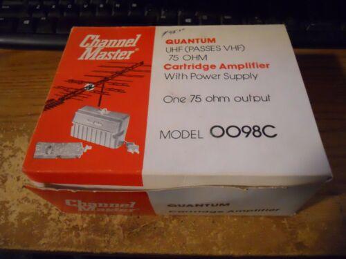 Channel Master quantum Antenna  cartridge amplifier 0098c
