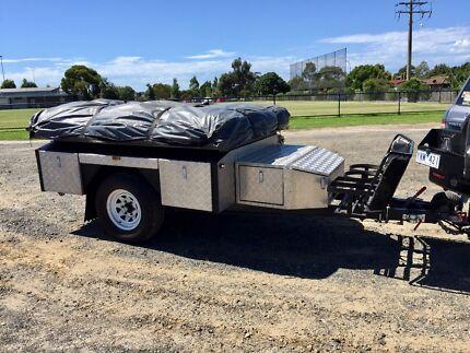 Ezytrail 2014 Tarwin soft floor off-road camper trailer