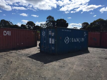 20 foot Shipping Container 2500 inc GST & DELIVERY!