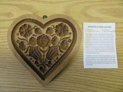 Lebkuchen Springerle Cookie Stamp Made in Switzerland Hand Made