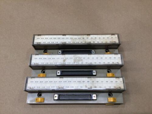 Lot Of 3 Togi PCN-4F40 Terminal Block #53D15*AD