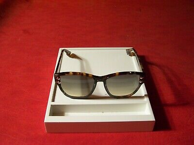 CHRISTIAN DIOR ADDICT 3 BLUE HAVANA WOMENS AUTHENTIC DESIGNER SUNGLASSES