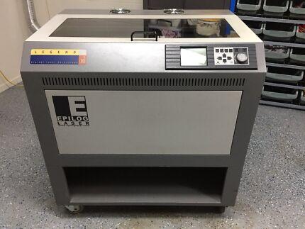 """Epilog Legend laser cutter engraver machine 25W 24x12"""""""