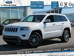 2014 Jeep Grand Cherokee LIMITED**AWD**CUIR*TOIT*GPS*CAMERA*A/C*