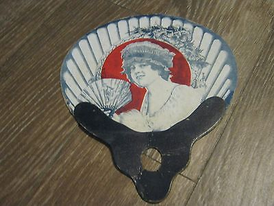 Phone 76 Ads. Hand Fan Happy's Soda Water Is Pure and Wholesome Victorian Girl ?