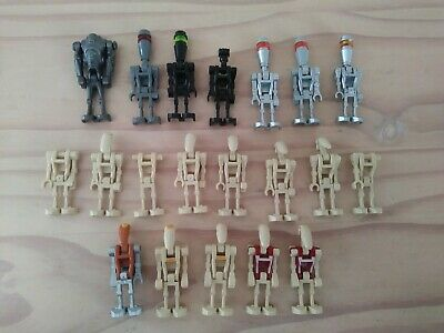 Lego Star Wars Battle Droid lot