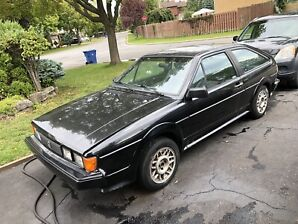 VW Scirocco 16V 1987 for sale or parts