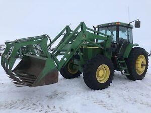 John Deere 7510 tractor