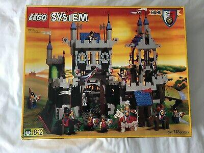 LEGO 6090 Royal Knight's Castle Vintage 1995 NEW Unused Set 100% Complete READ