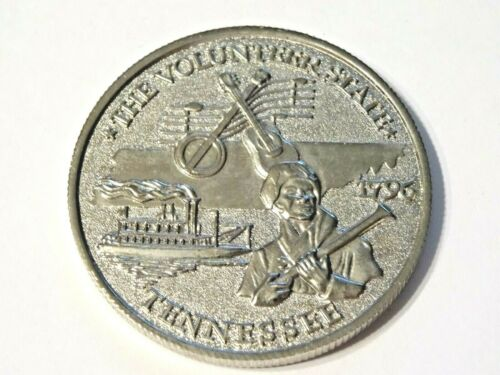 GREAT SMOKY MOUNTAINS TENNESSEE  ~ The Volunteer State 1796 Black Bear Coin