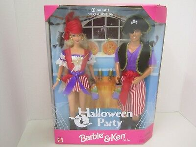 Halloween Party - Barbie and Ken Dolls Gift Set -Target Special Edition 1998](Barbie And Ken Halloween)