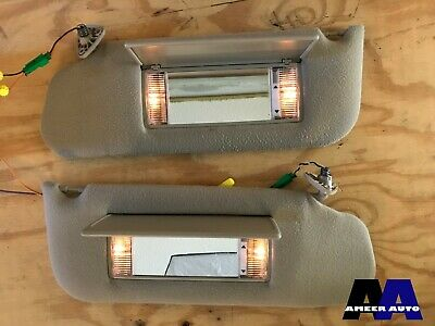 1989-1993 Cadillac Deville Fleetwood FWD Sun Visors shade LH RH Left Right OEM