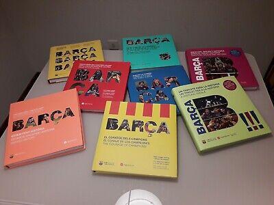 Coleccion completa libros barça fc barcelona messi liga copa champions