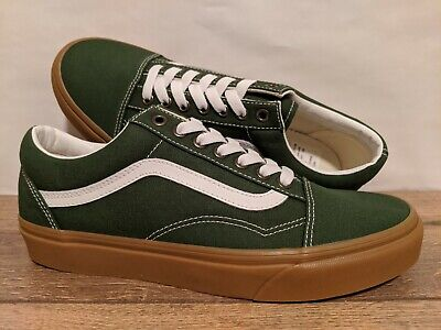 Vans New Old Skool Gum Greener Pastures/True White Men Size USA 9 UK 8.5 EUR 42