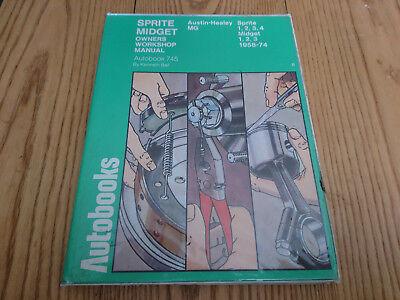 AUSTIN HEALEY MG SPRITE & MIDGET MK1 2 3 4 1958 - 1974 AUTOBOOK WORKSHOP MANUAL