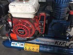 Honda gx160 petrol engine with air compressor Dandenong Greater Dandenong Preview
