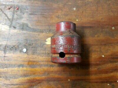 Wright 6820 58 X 34 Drive Impact Socket Usa 58 X 34