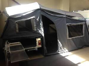 New! Soft Floor Semi Off Road Broadwater Camper Trailer Biggera Waters Gold Coast City Preview