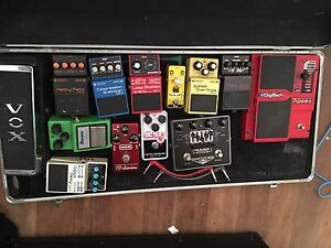 Various guitar pedals Kippa-ring Redcliffe Area Preview