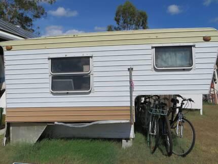 Vintage Retro FRANKLIN SLIDE ON CAMPER Trailer Campervan Caravan Ipswich Ipswich City Preview