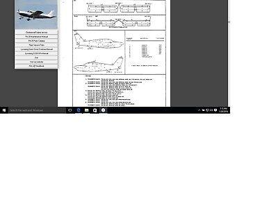 Piper PA-28 Cherokee n Arrow service repair maintenance manual library w A/Ds