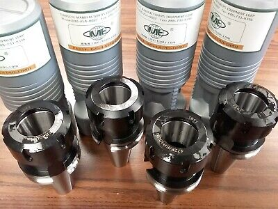4 Cat40-er40-2.76 Collet Chucks Balanced G2.525000rpm B25-cat40-er40