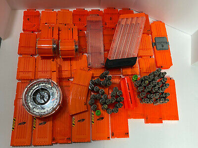 Lot of Random Nerf Ammo Clip Magazine Drums 40+