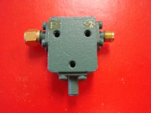 AMLABS 7.2-12.4GHz Isolator Model AMF-4954, SMA