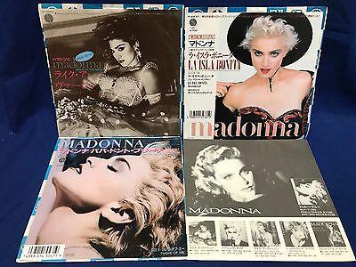 LOT 3 Madonna Japan EP Record Like A Virgin Papa Don