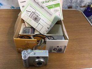 Canon power shot A95 digital camera