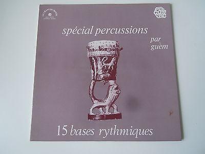 Guem, Spécial Percussions, 15 Bases Rythmiques, Le Chant Du Monde LDX 74567