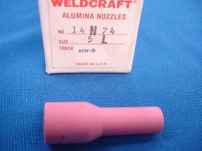 10 Linde 14n74 Tig Welding 5l Alumina Nozzle List 220