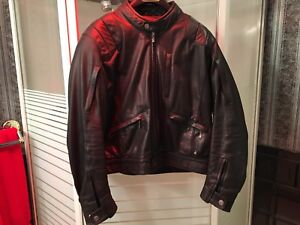 BMW Motorrad Leather Motorcycle Jacket