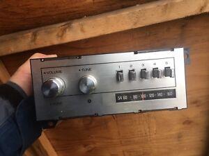 Vintage Chrysler car radio