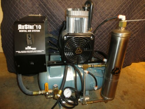 Air Techniques, Dental Air Compressor System System - 3/4 Hp - Used