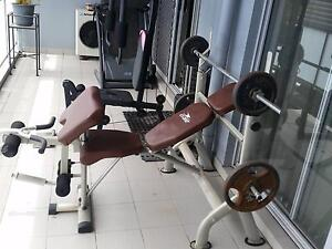 Home gym and bench Homebush Strathfield Area Preview