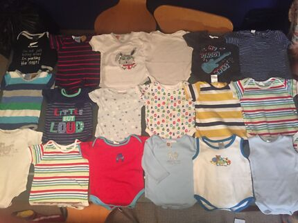 115 ITEMS baby boy Clothes Size 0-1 Burleigh Heads Gold Coast South Preview