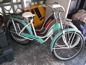 VINTAGE     RECENT USA  BARN  FIND    1949 TANK BICYCLE Palm Beach Gold Coast South Preview