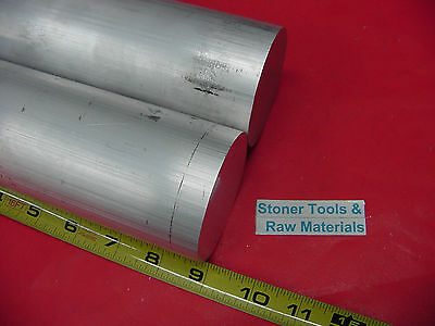2 Pieces 2-14 Aluminum 6061 Round Rod Bar 9 Long Solid Lathe Stock 2.25