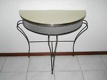 Vintage Retro 1970s Wrought Iron Hall Table Hillarys Joondalup Area Preview
