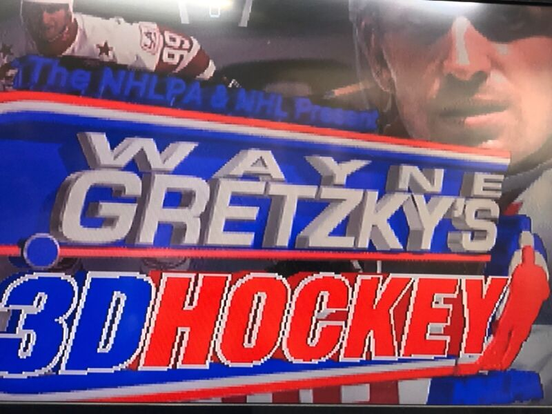Wayne Gretzy 3-D Hockey Atari PCB Super RARE